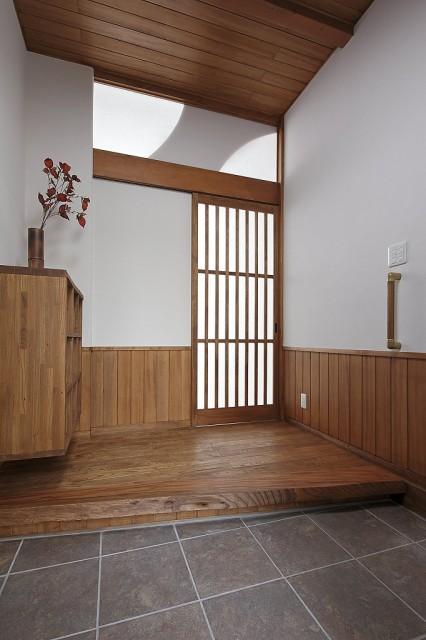 s-吹抜けと自然素材の家 (6)