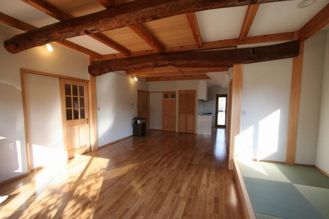 s-古材活用 自然素材の家 (2)